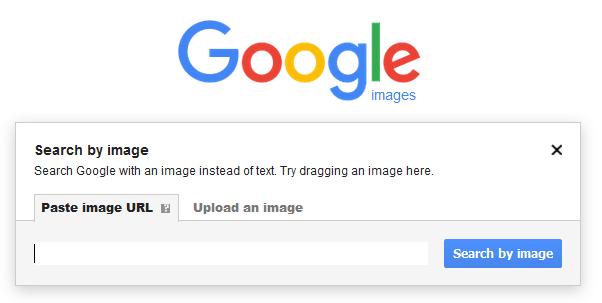 google images search - paste image url