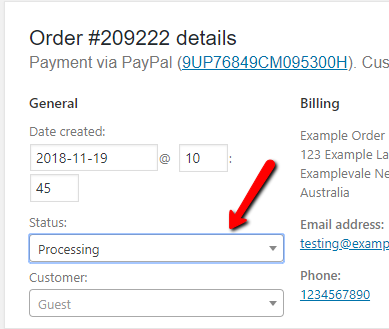 How to process an order with WooCommerce on your WordPress