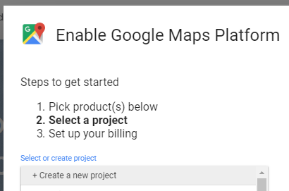 How to create Google Maps, Routes & Places API key for WooReer